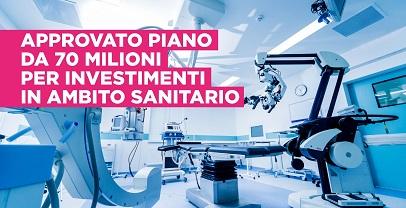 Regione Lazio. Sanità: approvato piano di investimenti in ambito sanitario per 70 milioni