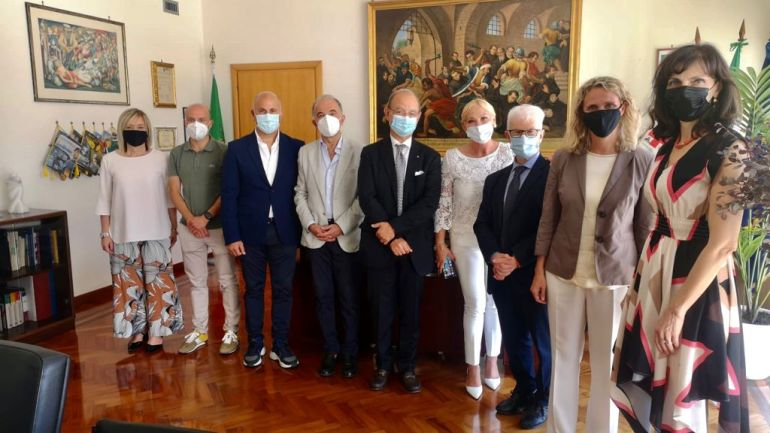 Visita istituzionale della manager Asl Silvia Cavalli a Fondi