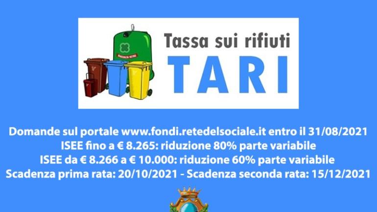 Fondi. Agevolazioni Tari per le utenze domestiche: è possibile fare domanda fino al 31 agosto
