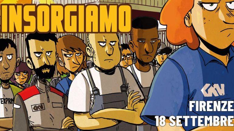 Il PRC Roma-Lazio il 18 a Firenze con i lavoratori GKN