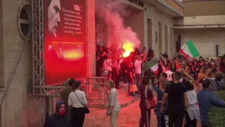 """""""CLAAI Assimprese Lazio Sud"""", solidarietà alla Cgil"""