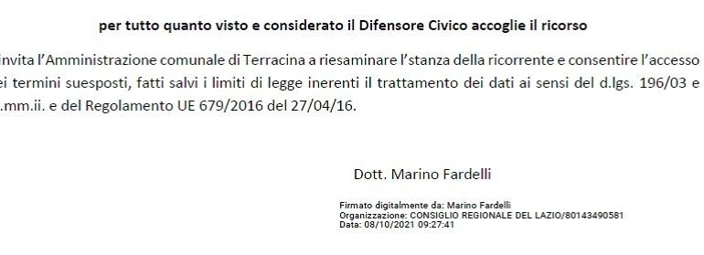 """Terracina. Il Difensore Civico regionale conferma: Legambiente ha ragione, il Comune deve fornire i documenti del """"Residence Adrower"""""""