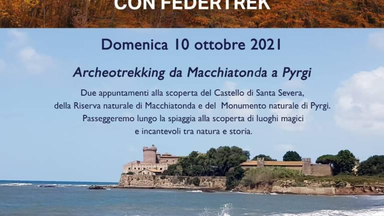 Archeotrekking al Castello e alla Riserva naturale di Macchiatonda per la  Giornata del camminare
