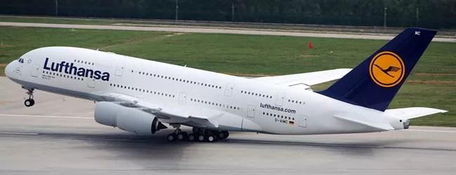 Passagens Lufthansa