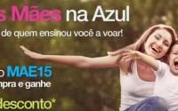 Código promocional Azul Dia das Mães 2013 concede 15% de desconto