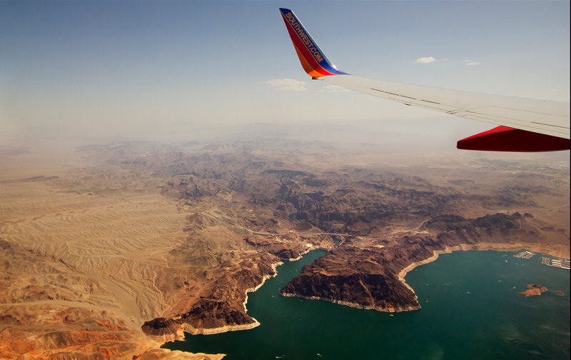 Foto Lake Mead and Hoover Dam, Arizona/Nevada, EUA