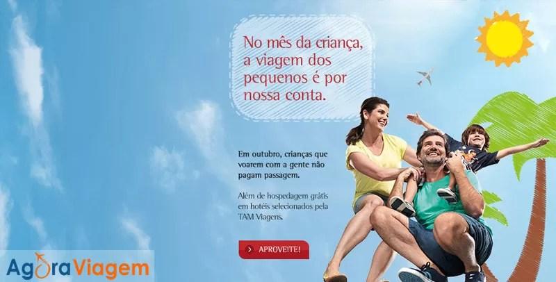 Promoção de passagens aéreas gratuitas outubro 2014