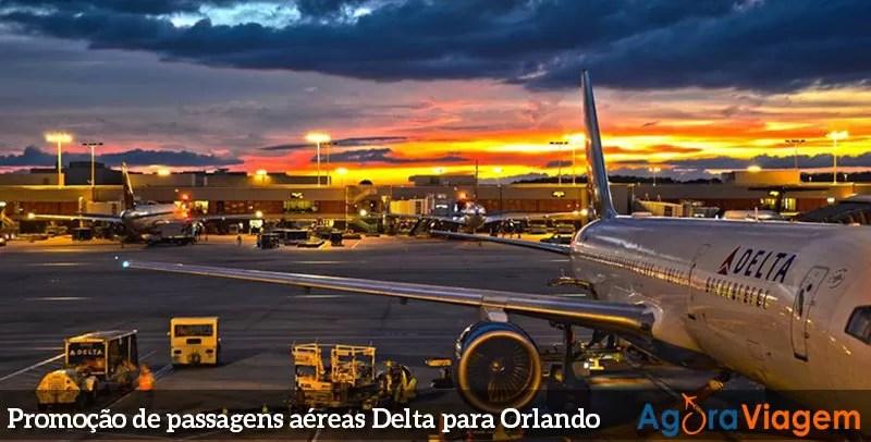 Delta - Promoção de passagens para Orlando