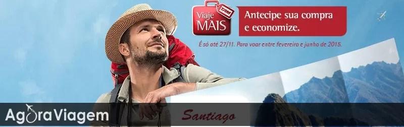 Promoção de passagens aéreas Chile 2015