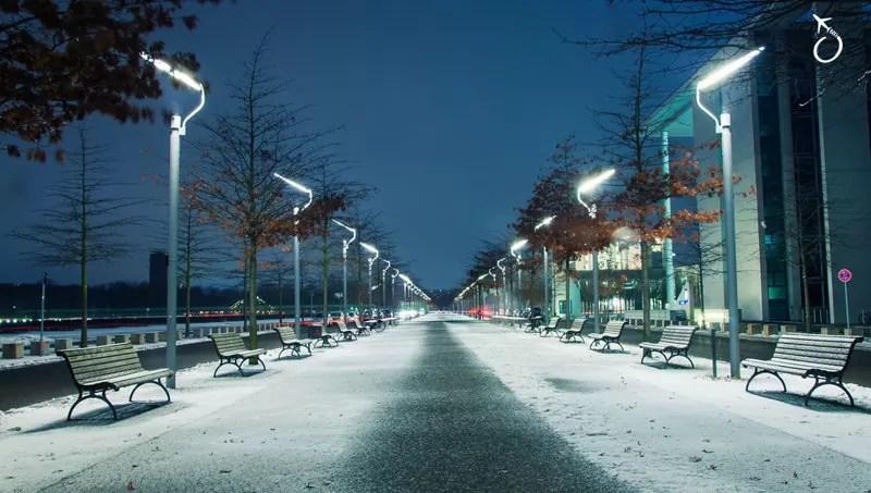 Berlim, Alemanha - Inverno na Europa