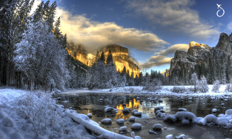 Yosemite no inverno