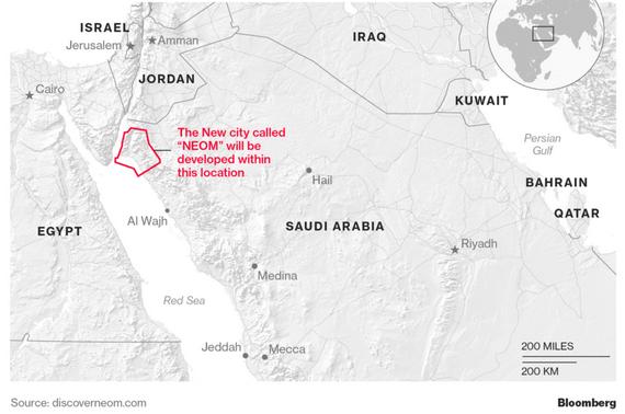 NEOM, Arabie Séoudite : « FinTech-City » ou « Techno-Financialized-City », dépassement, achèvement ou impasse du concept de « Smart City » ?