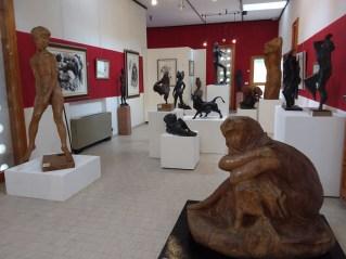Interno del museo Murer a Falcade