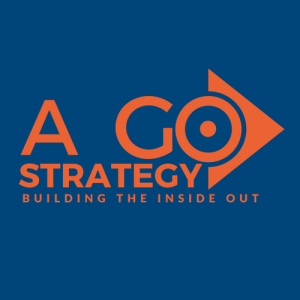 expert digital marketing consultant, A Go Strategy - Building the Inside Out logo 500 X 500 png high resolution file transparent background