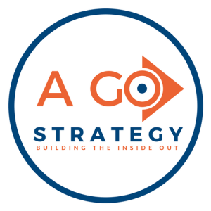 expert digital marketing consultant, A_GO Strategy logo surrounded by a blue circle 500 X 500 png high resolution file