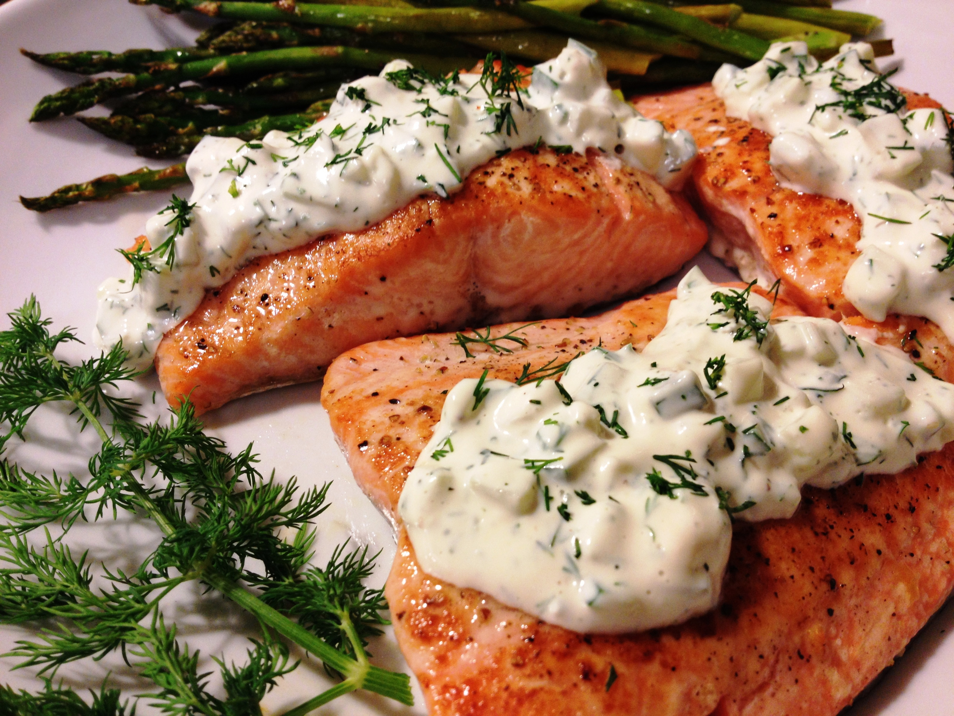 Cucumber Dill Salmon Recipe From A Gouda Life Kitchen