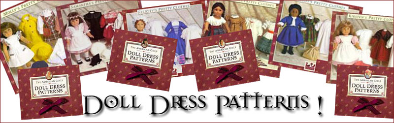American Girl doll dress patterns