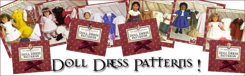 American Girl doll dress patterns