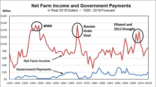Net Farm Income and Government Payments
