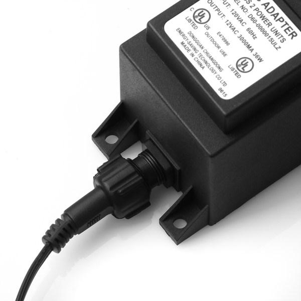 Waterproof Voltage 36w Transformer Power Converter Supply 110 120v Ac 12v