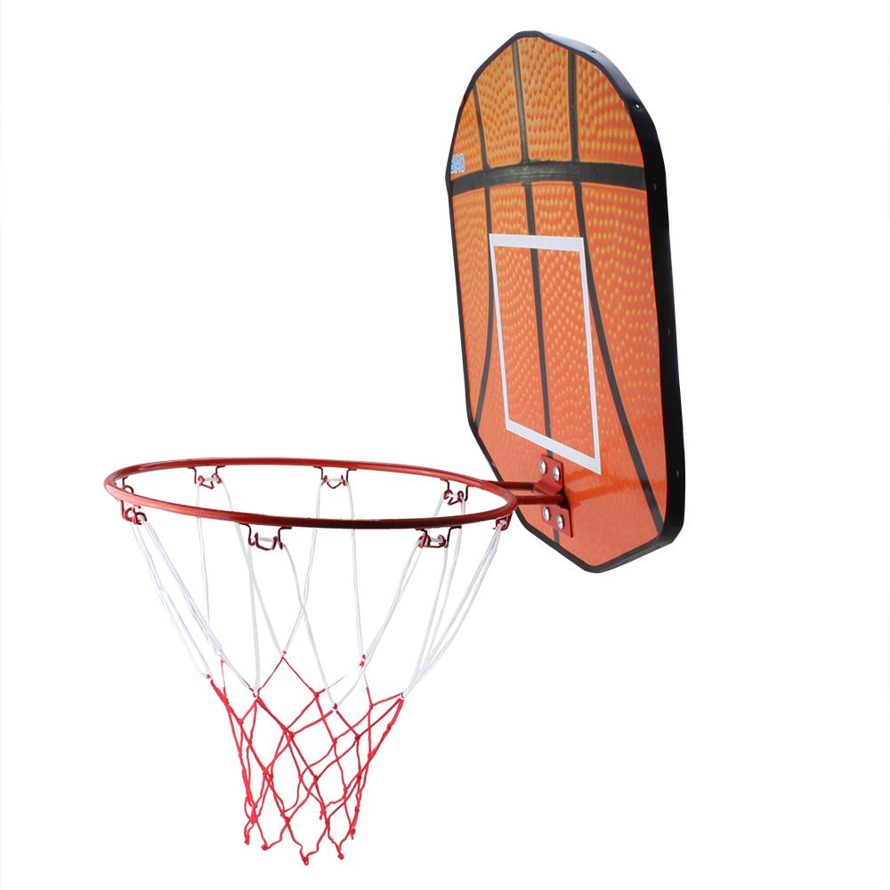 Wooden Wall Mounted Basketball Backboards Rim Hoop Goal