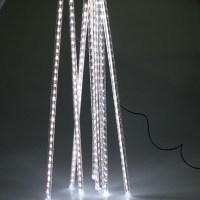240 LED Meteor Shower Rain Light Tube String Xmas Decorate ...