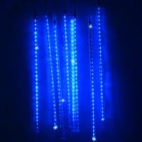 240 LED Meteor Shower Rain Light Tube String Christmas ...