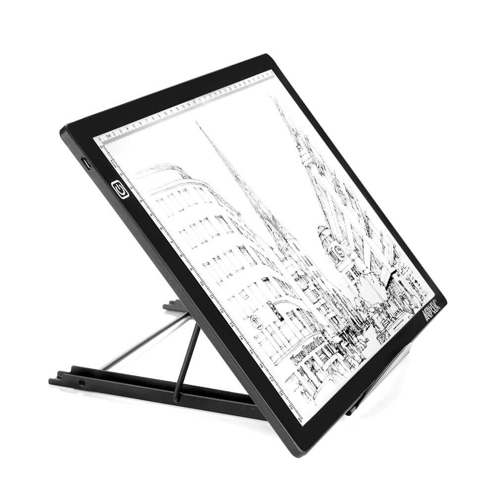 Tablet/Light Box Stand, AGPtEK Metal Mesh Ventilated