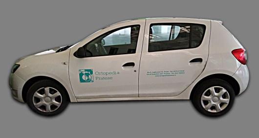 Dacia Sandero - Prespaziati PVC per Ortoperdia Pratese