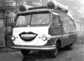 Auto pubblicitaria per Chlorodont