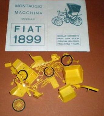 Shell premio modellino Fiat 1899
