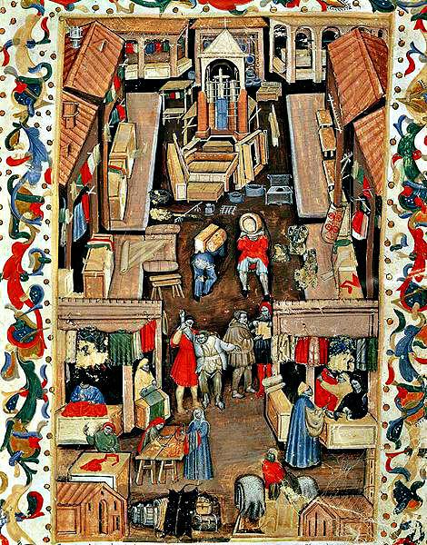 Il mercato di Porta Ravagnana a Bologna