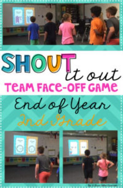 As the end of year approaches, I want to keep my students engaged and motivated! This team face-off game has been perfect, I have used it as review for the year! Perfect for an end of year party or when you have a few spare minutes!