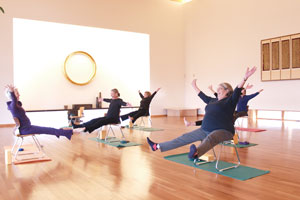chair yoga for seniors kitchen table and chairs cork a graceful plan active baby boomers or rehabilitation