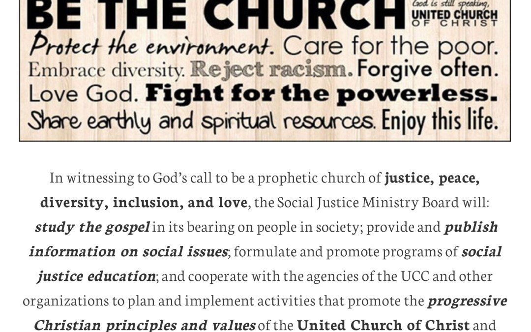 On Samuel, Social Justice, And The Prophetic Office Of The Church (2)