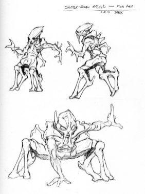 Laci Mutant Skitter design.