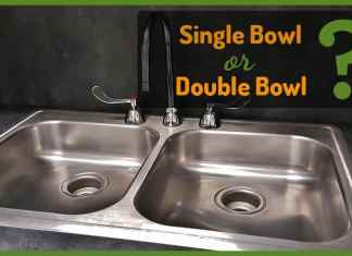Kitchen Sink Single or Double Bowl
