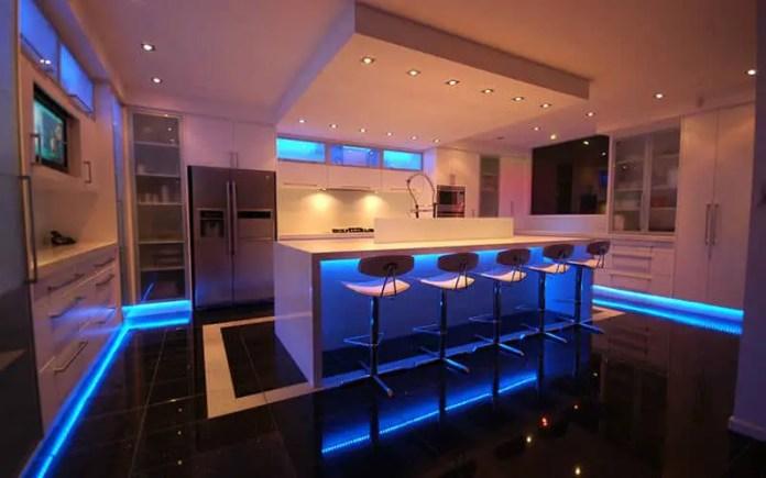 Kitchen design Lighting Example