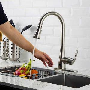 Touchless-Kitchen-Faucet-with-Pull-Down-Sprayer,-Kitchen-Sink-Faucet