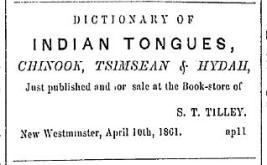 (British Columbian, April 25, 1861)