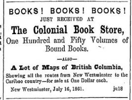 (British Columbian, July 25, 1861)