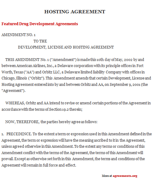 Or maybe you're actively looking for new clients. Hosting Agreement Template Download Pdf Agreements Org