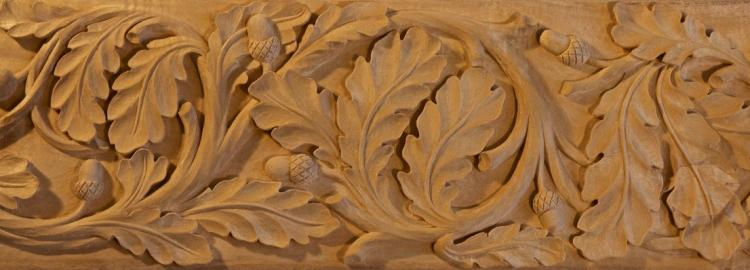 Gothic Wood Carving Design
