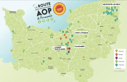 SIA 2018 - Inauguration de la Route des Fromages AOP de Normandie ...
