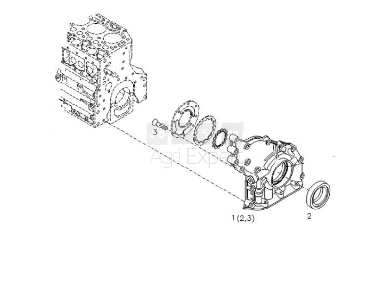 F411201210080, 01133718 moteur Deutz BF4M1012, BF4M2012