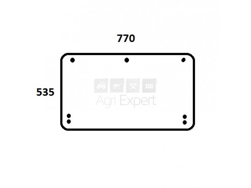 Vitre de toit tracteur Massey-Ferguson 6200, 6235, 6245