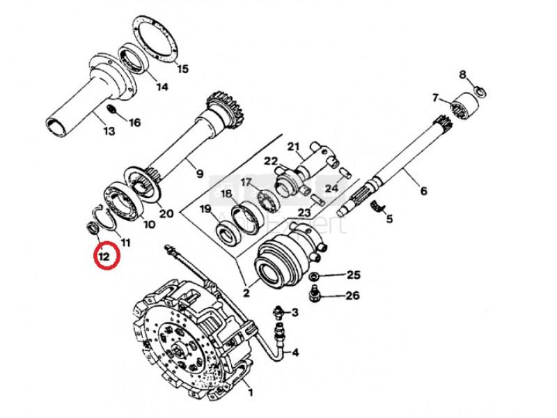 Joint spy d'entrée de boite de vitesse 3057808R1 tracteur