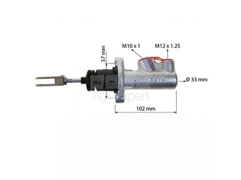 Maître cylindre de frein MF 50H, 50HX, 1471975M91