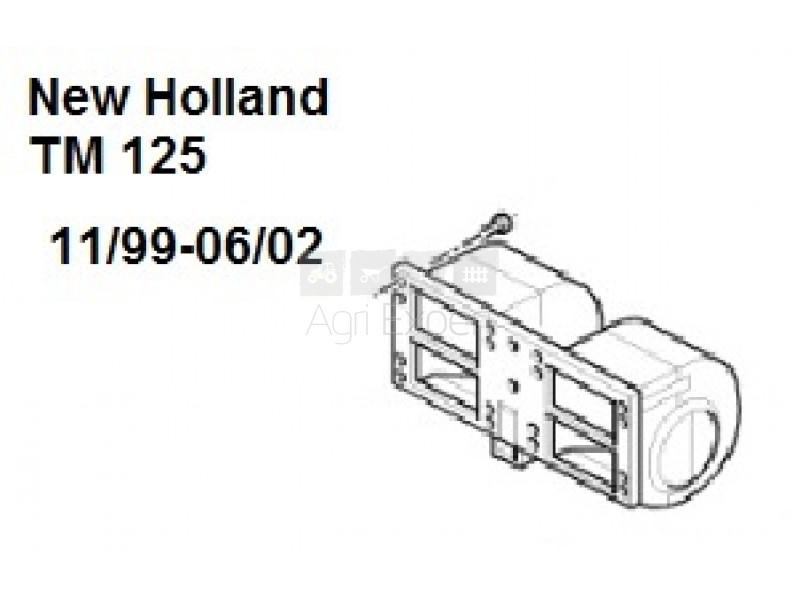 Ventilateur cabine NewHolland TD,TM,TS, CASE IH JX,MXM,MX