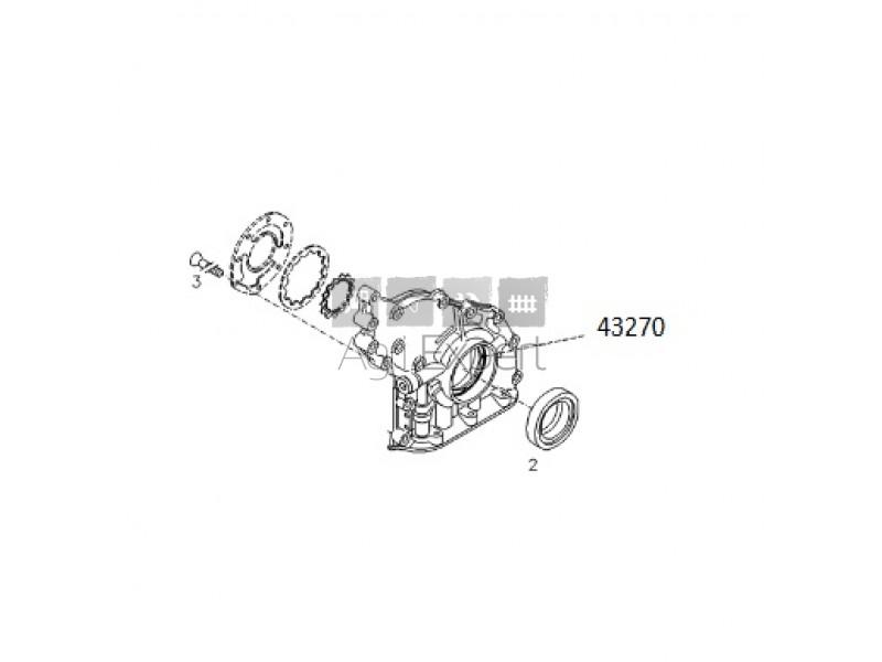 04258381, F404200210050 Pompe à huile moteur Deutz TCD 4.1